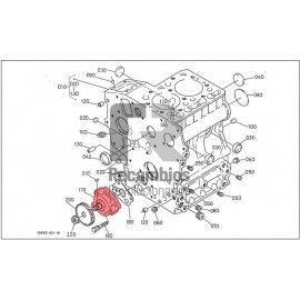 BOMBA ACEITE MOTOR KUBOTA K168513501